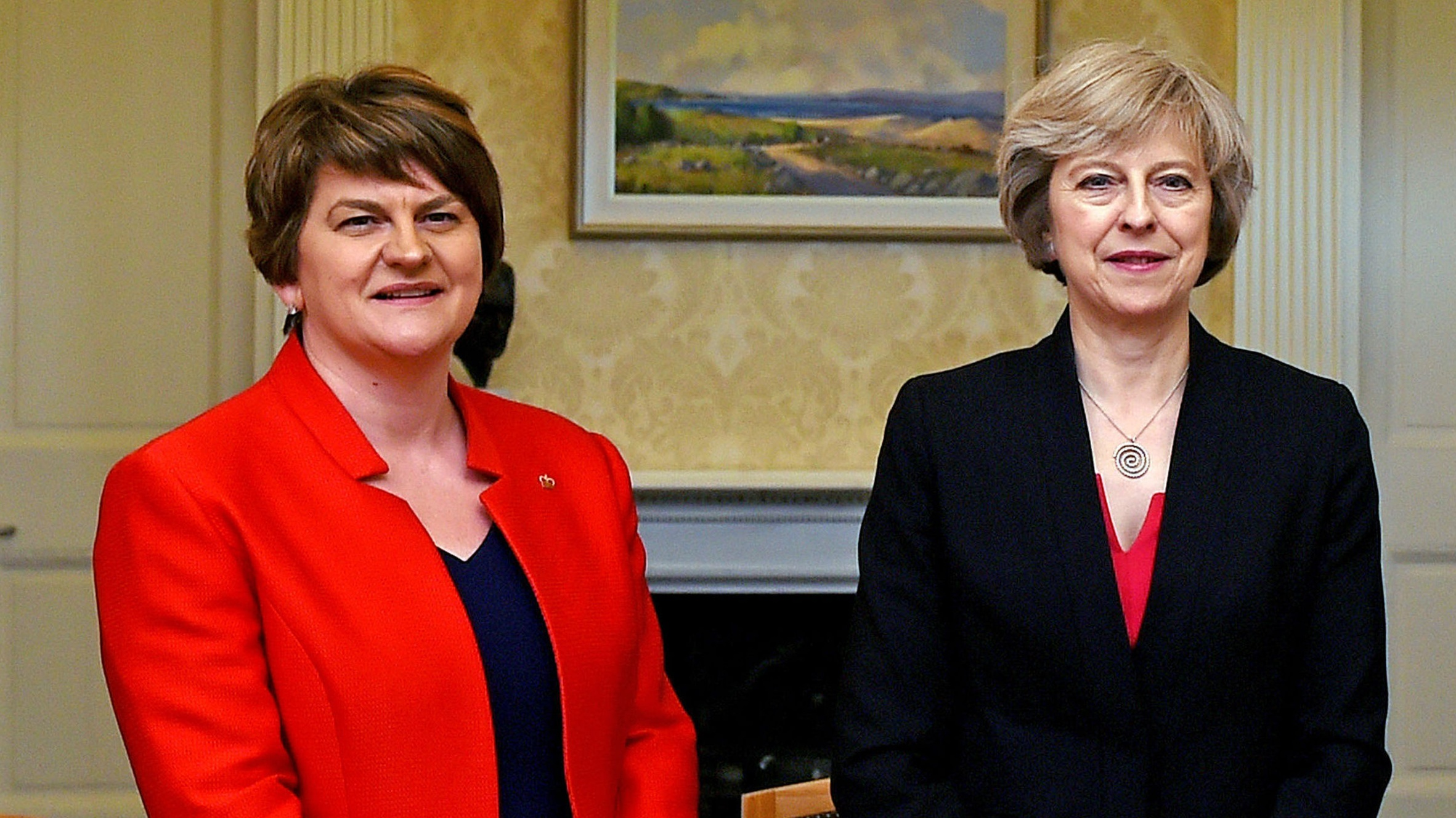 Theresa May to meet Sinn Fein at No 10