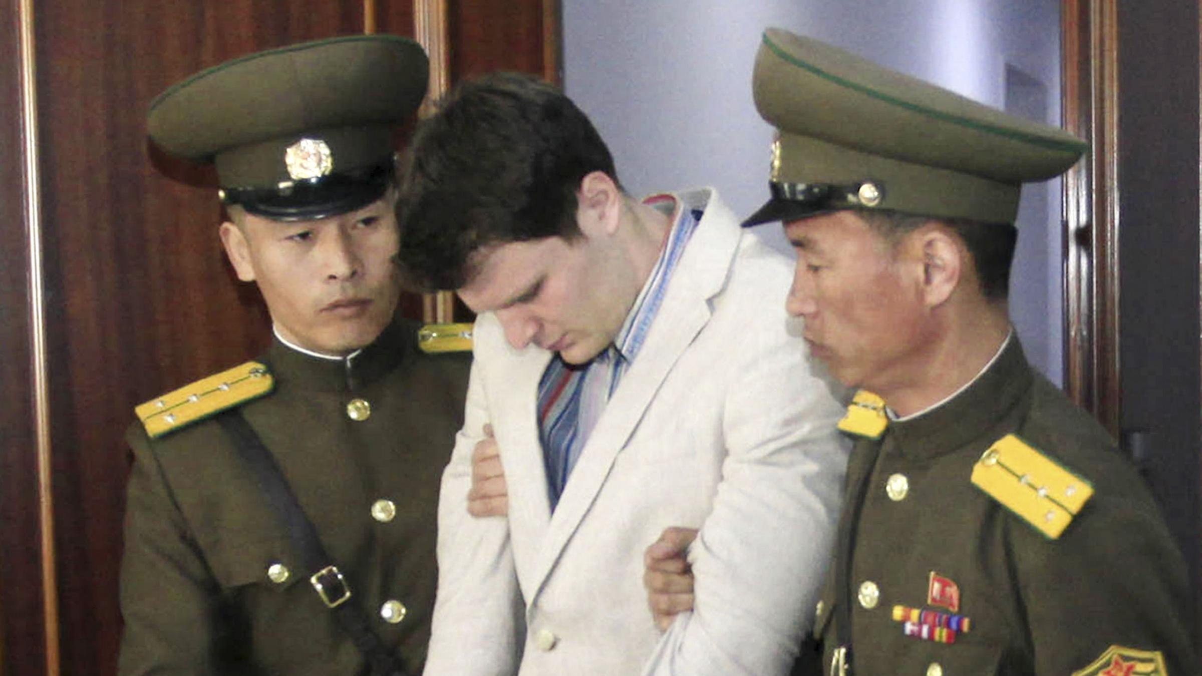 Student freed from North Korea suffered 'severe neurological injury'